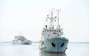 Rusiya hərbi gəmiləri Bakıda
