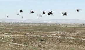 Hərbi Hava Qüvvələrinin bir qrup heyəti və aviasiya vasitələri Vətənə qayıdıb